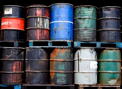 Are you storing oils or lubricants outside in your storage yard?