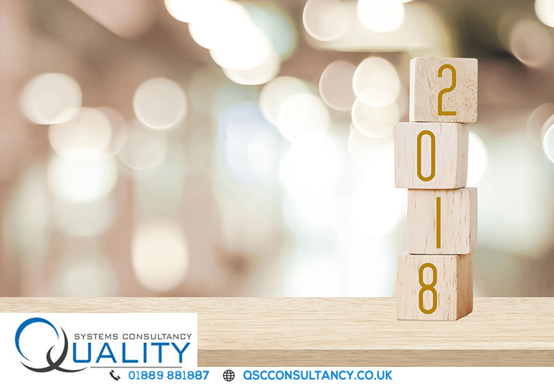 Make 2018 a Successful year for your Business, with help from Quality Systems Consultancy